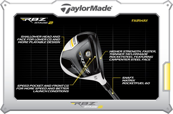 RBZ Stage 2 Fairway Wood